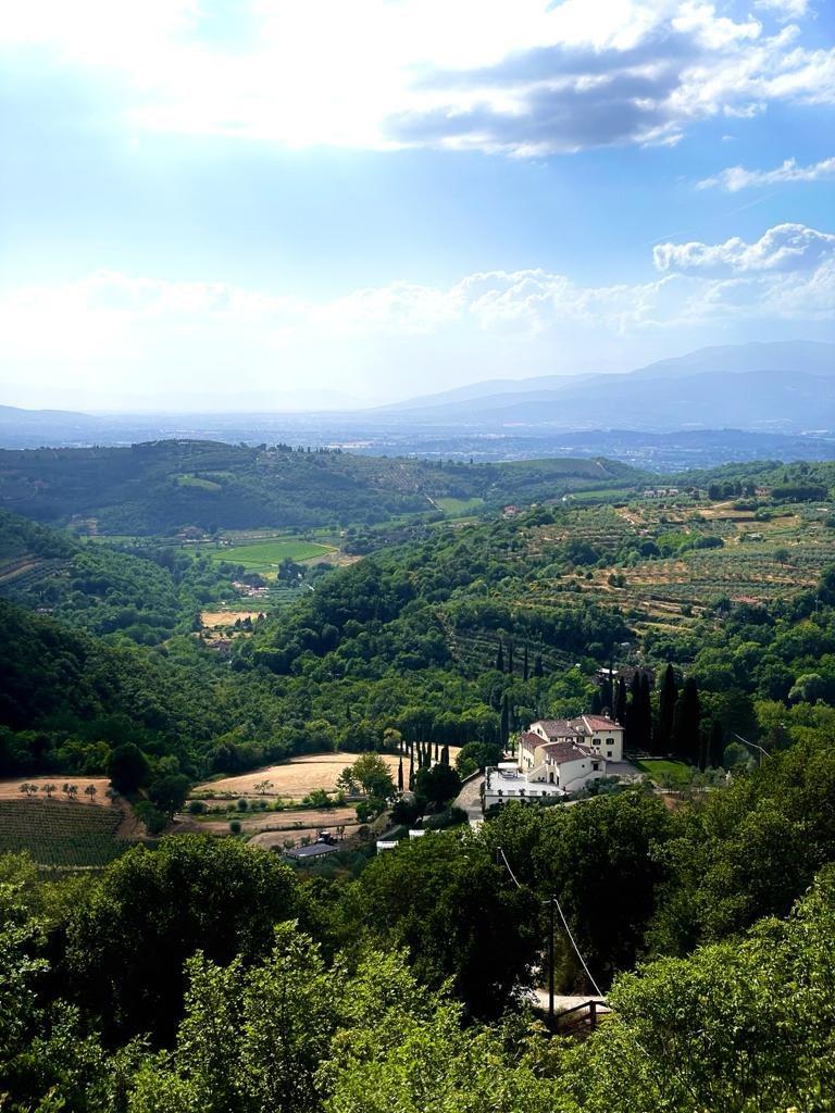 Sagenhafter Ausblick auf Arezzo