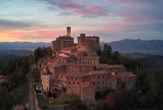 Abendstimmung Monte-Santa-Maria-Tiberina