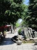 Fußgängerzone mit historischer Gestaltung