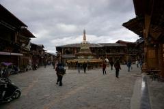 Sehenswerte Altstadt von  Shangri-la