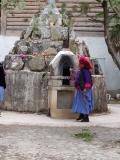 Mit der Gebetsmühle immer im Kreis herum
