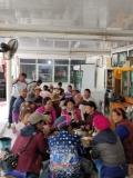 Mittagspause in der Dorfkneipe