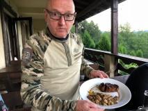 Tolles Steak mit Steinpilzen satt