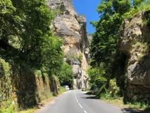 Hinein geht's in den wundervollen Gorges...