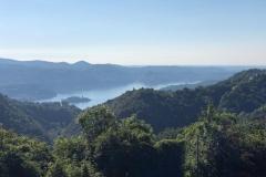 Blick auf den Orta See mit Insel