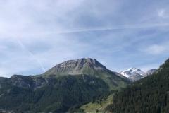 Welche Freude in dieser Bergwelt fahren zu können